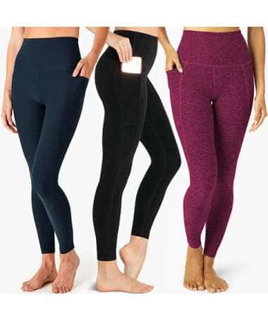 Beyond Yoga - High Waisted Spacedye Out of Pocket Midi Legging