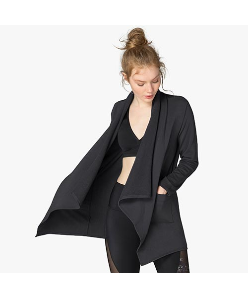 Beyond Yoga - womens - Everyday Drape Cardigan