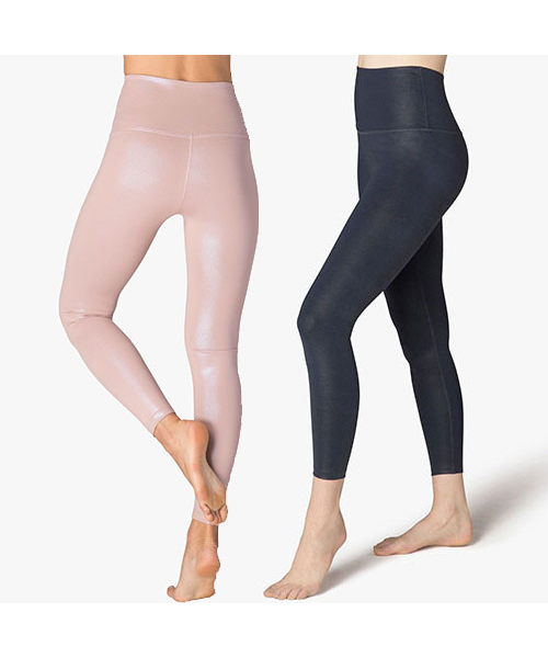 Beyond Yoga - womens - Pearlized High Waisted Midi Legging