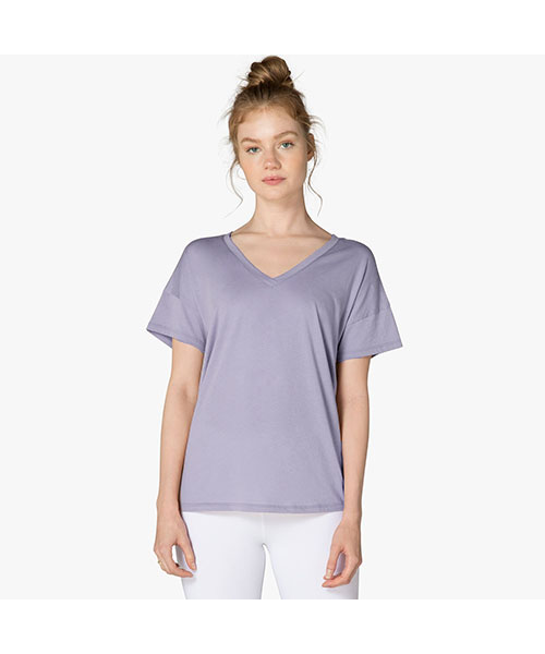Beyond Yoga - womens - All About It Slouchy Tee