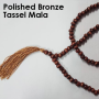 Polished Bronze Mala
