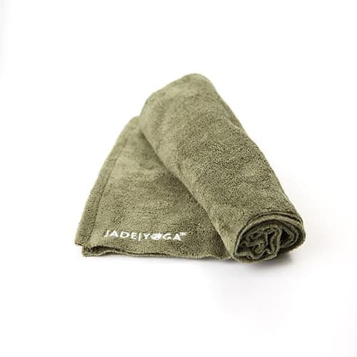Jade Microfibre Yoga Towels